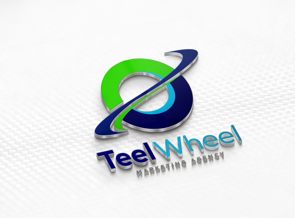 Teel Wheel 3D Logo